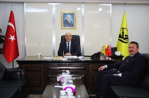 Başsavcı Bıçakcı'dan Başkan Pekmezci'ye ziyaret