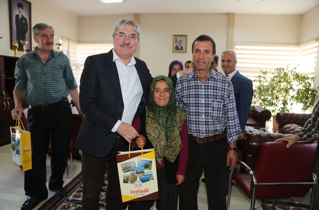 Başkan Cengiz'i mutlu eden ziyaret