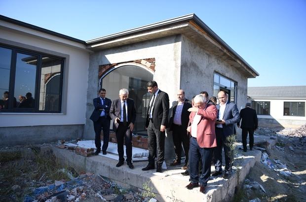 Başkan Kocaman, Genel Sekreter Abiş'e çalışmaları anlattı