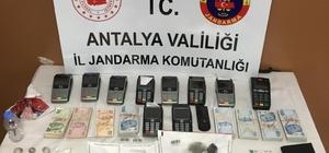 Alanya'da kredi kartı dolandırıcılığı: 4 gözaltı