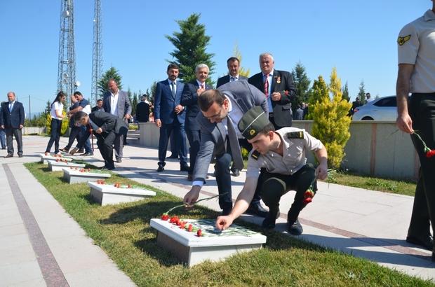 Taşköprü'de 19 Eylül Gaziler Günü kutlandı