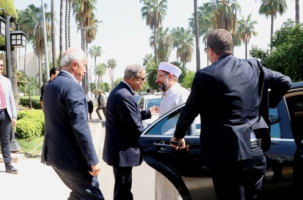 Diyanet İşleri Başkanı Erbaş'tan Vali Su'ya ziyaret