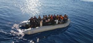 Muğla ve Aydın'da 163 göçmen yakalandı Sahil Güvenlik ekipleri tarafından Muğla'nın Bodrum ve Datça ilçeleri ile Aydın'ın Didim ilçesinde toplam 163 düzensiz göçmen yakalandı.