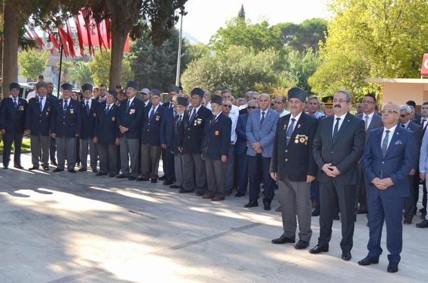 Manisa'nın ilçelerinde Gaziler Günü kutlandı