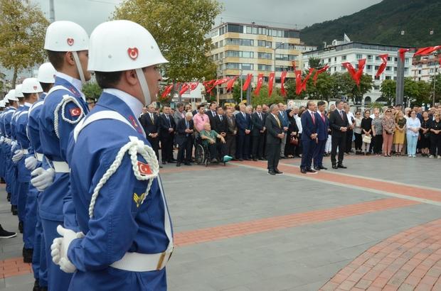 Atatürk'ün Ordu'ya gelişi, coşkuyla kutlandı Atatürk'ün Ordu'ya gelişinin 95'inci yılı, Ordu'da törenle kutlandı