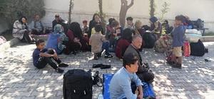 Çanakkale'de 72 kaçak göçmen yakalandı