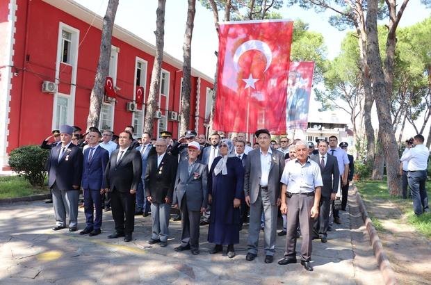 19 Eylül Gaziler Günü Bozdoğan'da kutlandı