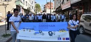 Edremit'te Avrupa Hareketlilik Haftası kutlanıyor