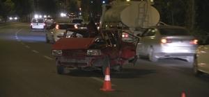 Niğde'de halk otobüsü ile otomobil çarpıştı: 5 yaralı