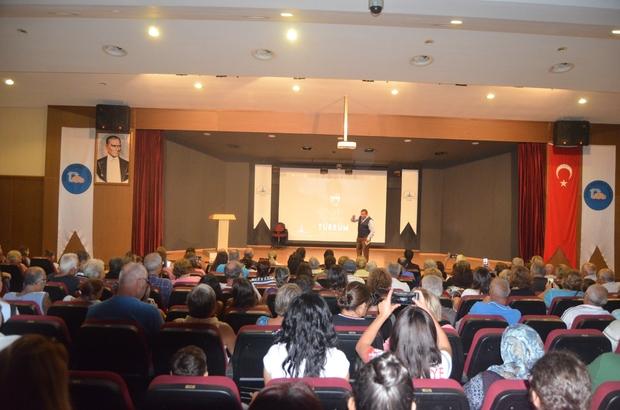 Didim'de 'Okumak, Okutmak ve Okullu Olmak' konferansı