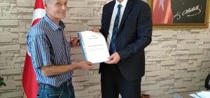 Beyşehir'de şeker fasulye üreticisi patentine kavuştu