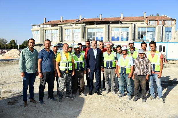 Yeni YHT Garı Alt Geçidi hizmete açıldı