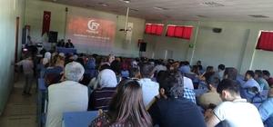 Hisarcık'ta öğretmen ve okul idarecilerine konferans