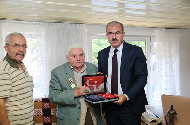 Vali Ömer Toraman, Kore gazilerini ziyaret etti