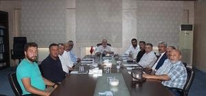 Kent Konseyi yönetim kurulu toplantısı yapıldı