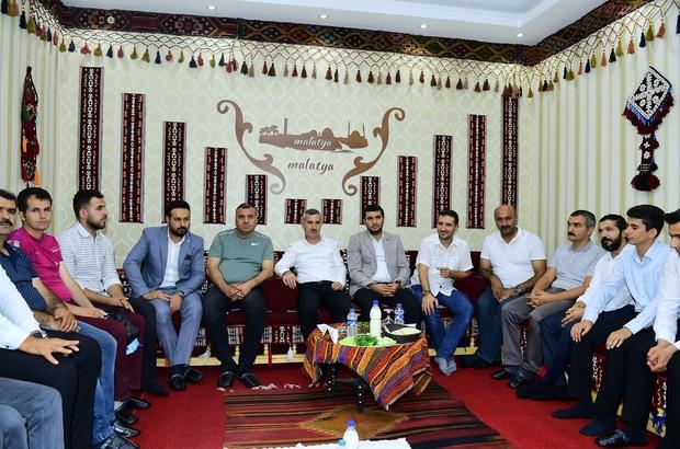 Başkan Çınar, Gençlik ve Eğitim Derneği üyeleriyle bir araya geldi