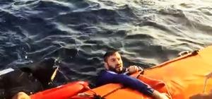 Kayıp bebek aranıyor Bodrum'da Kardak adası kuzeyinde düzensiz göçmenleri taşıyan ve batan teknede kaybolan 8 aylık bebeğin arama çalışmaları helikopter ve Sahil Güvenlik dalış timi tarafından sürüyor.