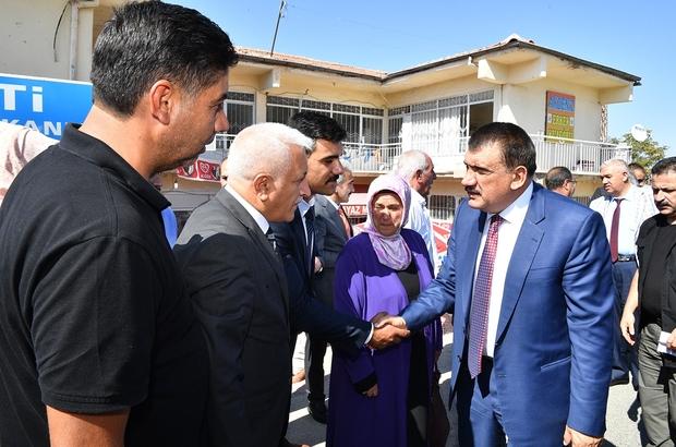 Başkan Gürkan, Kale ilçesini ziyaret etti