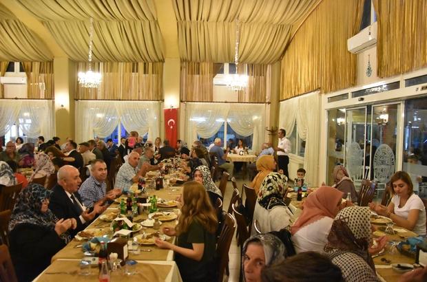 Nazilli'de gaziler onuruna yemek verildi