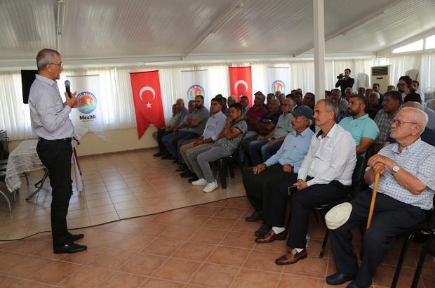 Mezitli'deki üreticiler, 'Üretici Danışma Meclisi'ni kurdu