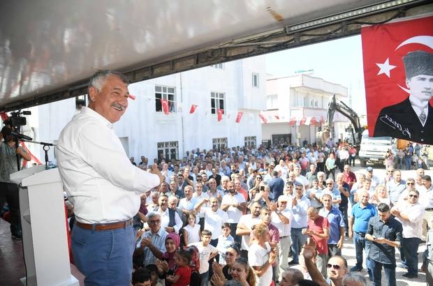"""Başkan Karalar: """"5 ayda gidişi tersine çevirdik"""" Akkapı, Gülbahçesi ve Dağlıoğlu'na 23 kilometrelik kanalizasyon şebekesi yıl sonunda tamamlanacak"""