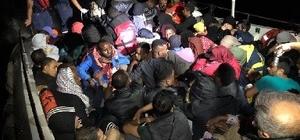İzmir'de 154 düzensiz göçmen yakalandı
