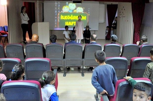 Demirözü'nde İlköğretim Haftası kutlandı