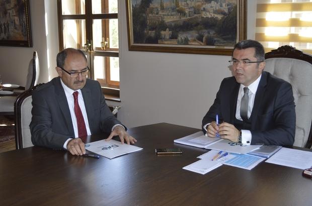 Erzurum'da bitkisel üretime 1 milyonluk destek Protokolü, Vali Memiş ile DAP Başkanı Demir imzaladı