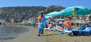 Büyükşehir plajları temizledi