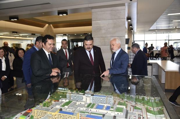 Rektör Çomaklı'dan Eskişehir Şehir Hastanesine ziyaret