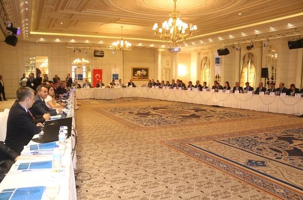 """Van'da """"TEİAŞ Koordinasyon Toplantısı"""" yapıldı"""
