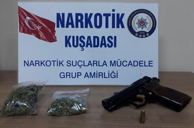 Kuşadası'nda uyuşturucu operasyonu