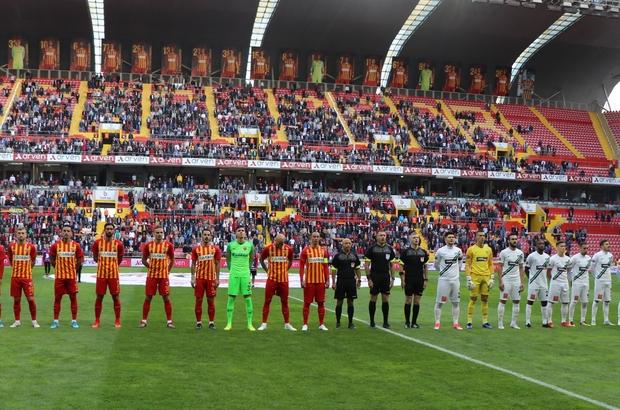 Süper Lig: İ.M.Kayserispor: 1 - Y.Denizlispor: 0 (İlk yarı)