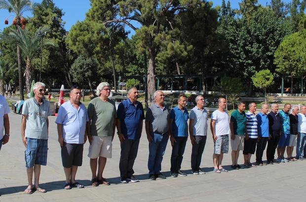 35 yıl sonra içtima verdiler Farklı illerden 50 komando, 35 yıl sonra aileleriyle birlikte Antalya'da bir araya geldi