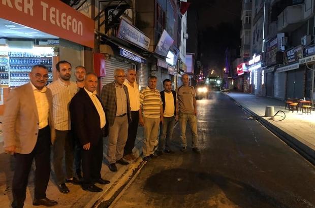 """İlkadım'da cadde ve sokaklar yenileniyor Başkan Demirtaş: """"Bir şehri güzel gösteren düzgün ve estetik caddelerdir"""""""