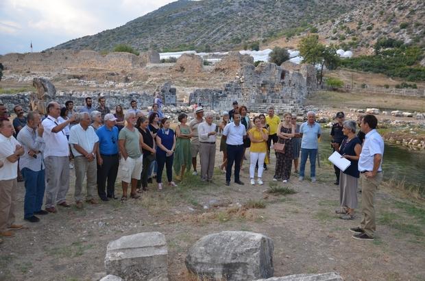 Limyra Antik Kenti'nde 50'nci yıl kazı sezonu tamamlandı