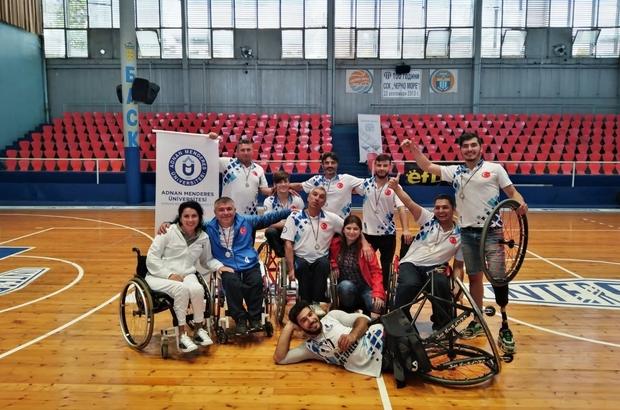 ADÜ'nün 'Engelsiz Efeleri' Balkan Şampiyonası'ndan ikincilikle döndü