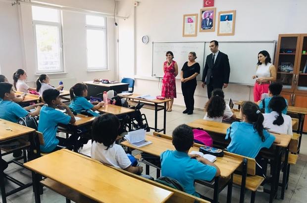 İl Mili Eğitim Müdürü Yılmaz'dan Mehmet Akif Ersoy Ortaokuluna ziyaret