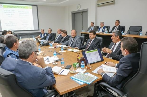 Kayseri OBM'de ilk değerlendirme toplantısı