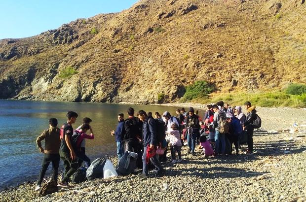 Koyda tekne beklerken yakalandılar Muğla'nın Datça ilçesinde kaçış hazırlığında olan ve tekne bekleyen 48 düzensiz göçmen yakalandı.