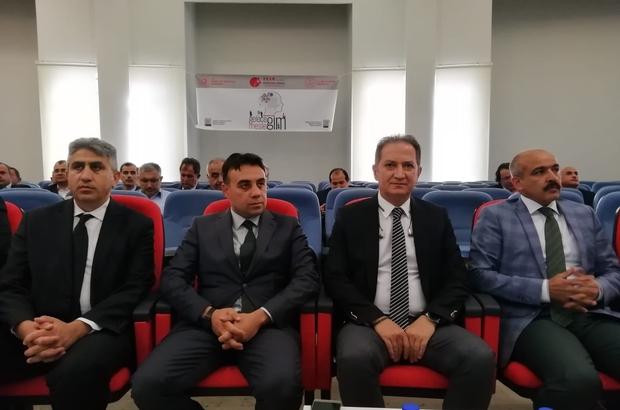 """ORAN Genel Sekreteri Ahmet Emin Kilci:""""Emeklerin meyveye dönüşmesi için mali destek sağlayacağız"""" İl Milli Eğitim Müdürü Celalettin Ekinci:""""Mesleki gelişim için, tüm paydaşlarımızla iş birliği içerisinde olacağız"""""""