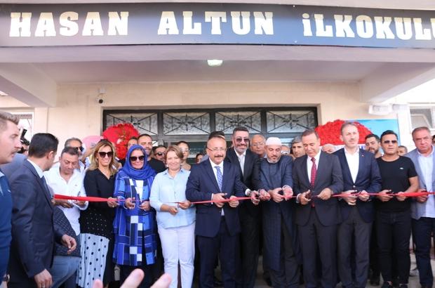 Ünlü sanatçı Siirt'te babasının adını taşıyan okulun açılışını yaptı