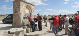 Guatr Çeşmesi'ne Türkiye'nin her yerinden ziyaretçi akını Rapor olumlu gelirse dolum merkezi olacak