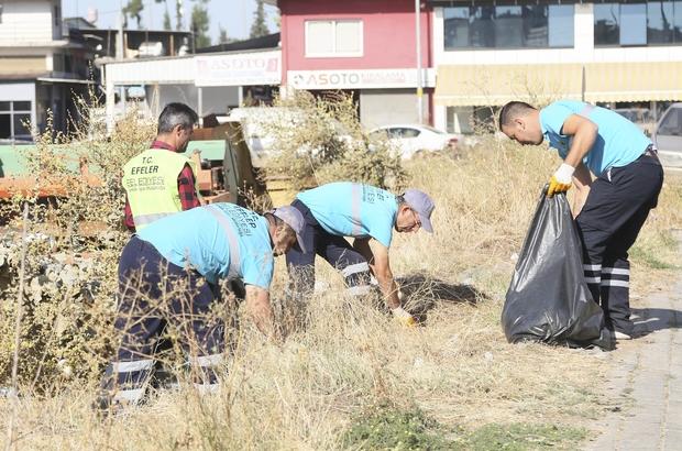 Efeler Belediyesi'nden sanayi sitesinde temizlik seferberliği