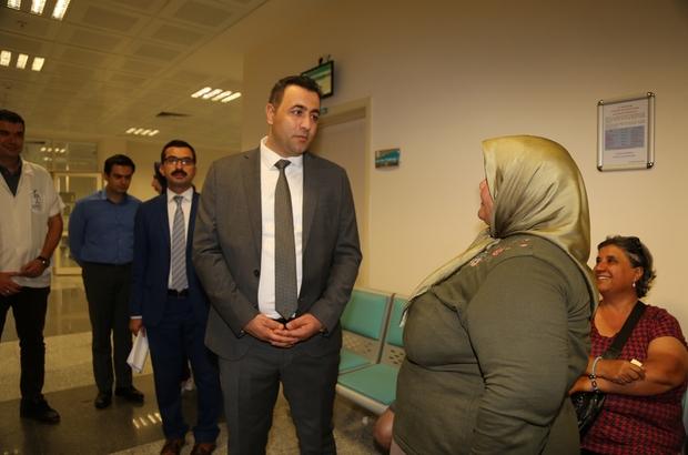 Rektör Prof.Dr. Ekrem Kalan göreve hızlı başladı