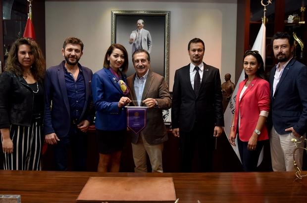 Gordion Rotary Kulübü'nden Ataç'a ziyaret