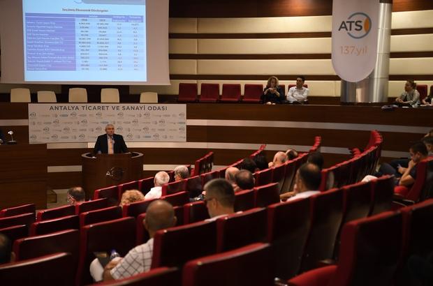 """ATSO Başkanı Çetin'den Thomas Cook açıklaması: """"Etkisinin sınırlı olmasını bekliyoruz"""" ATSO Eylül Ayı Meclis Toplantısı"""