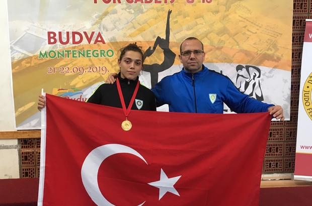 Manisalı judocu Balkan Şampiyonu