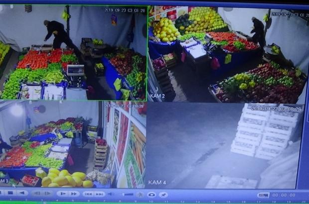 Birer gün arayla 3 kez aynı manavı soyan hırsız kameralara yakalandı Kamera görüntüleri olmasaydı baba ve oğlu birbirine girecekti