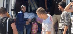 Balıkesir'de 125 kaçak göçmen yakalandı